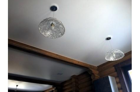 Натяжной эко-потолок матовый